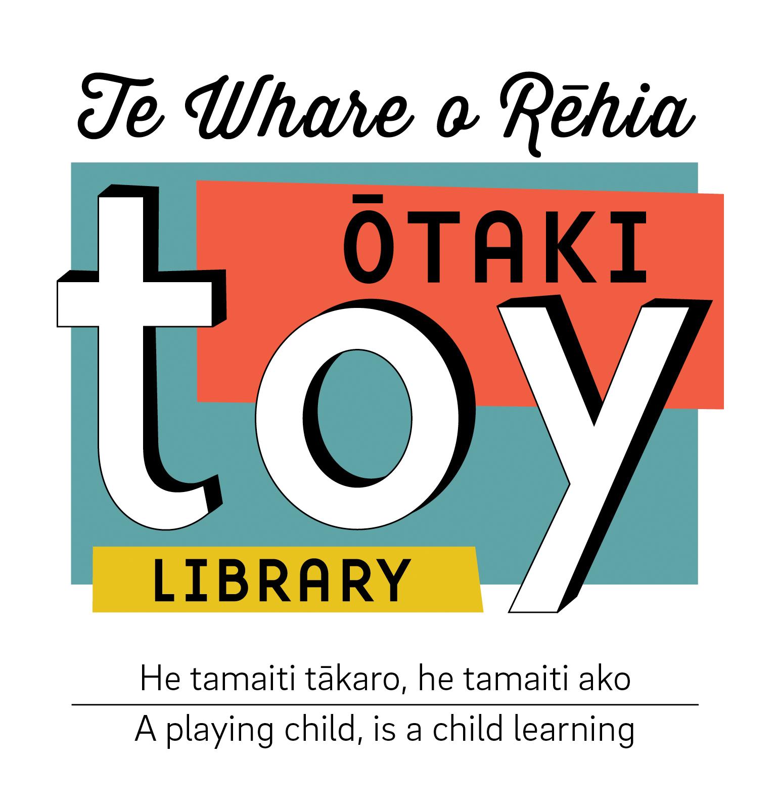 Te Whare o Rēhia Ōtaki Toy Library Logo