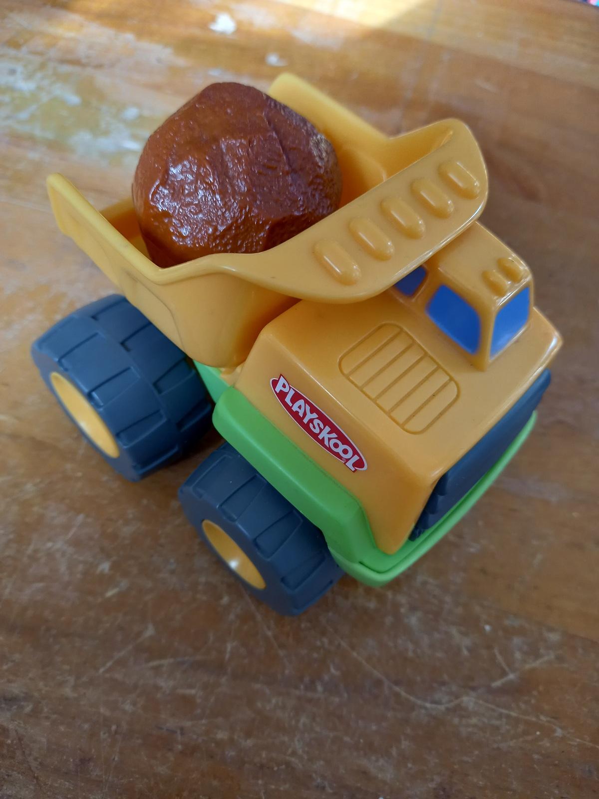 playskool rock truck