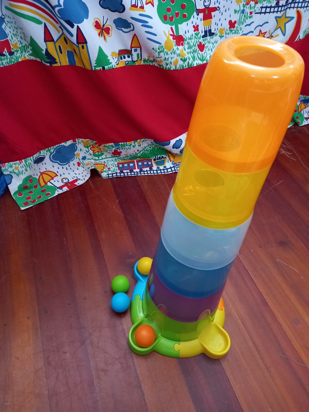 Stack and drop tower
